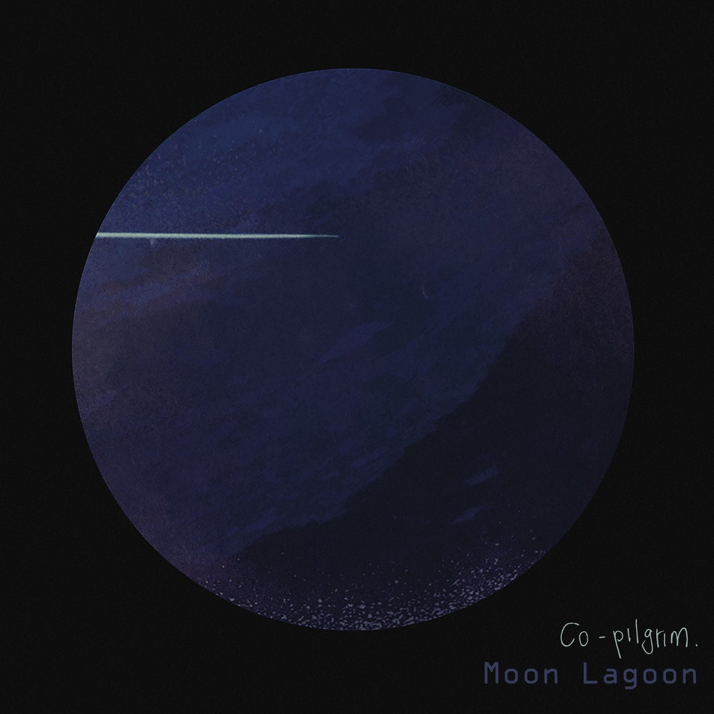 "Image of PRE-ORDER Co-pilgrim - 'Moon Lagoon' - Deluxe blue vinyl gatefold LP.     With bonus ""Co-vers"" album"