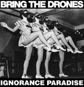 Image of BRING THE DRONES 'IGNORANCE PARADISE' LP (WOLFHOUR/DOOM/AGAINST ME!/DOMESTICS/ANTI-CIMEX) pre-order
