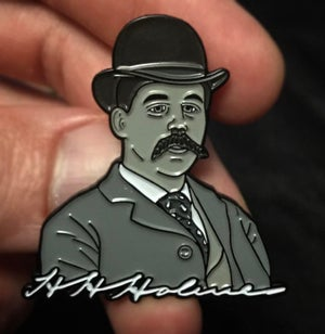 Image of (Serial Killer) H.H. Holmes Pin