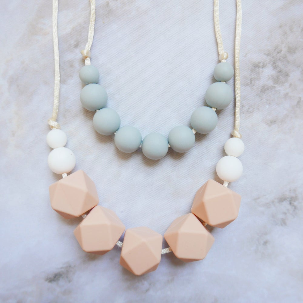 Image of Lovebird Teething necklace