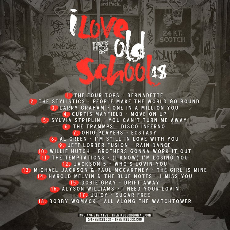 Image of I Love Old School 18