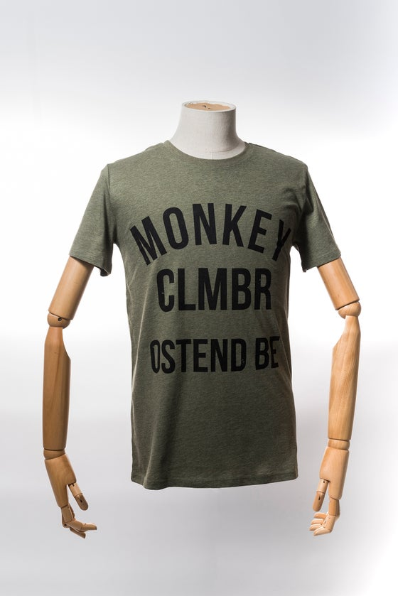 Image of Monkey Climber Ostend shirt I Heather Khaki