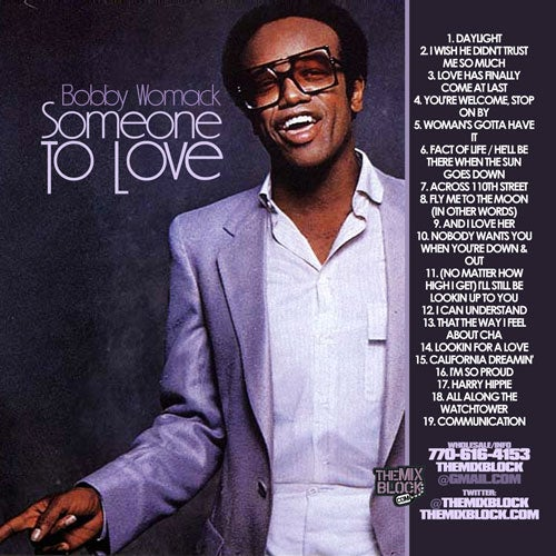 Image of Bobby Womack: Someone To Love
