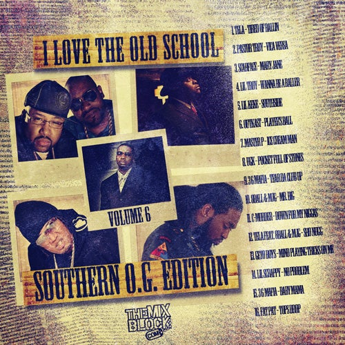 Image of I Love Old School 6 (O.G. Edition)