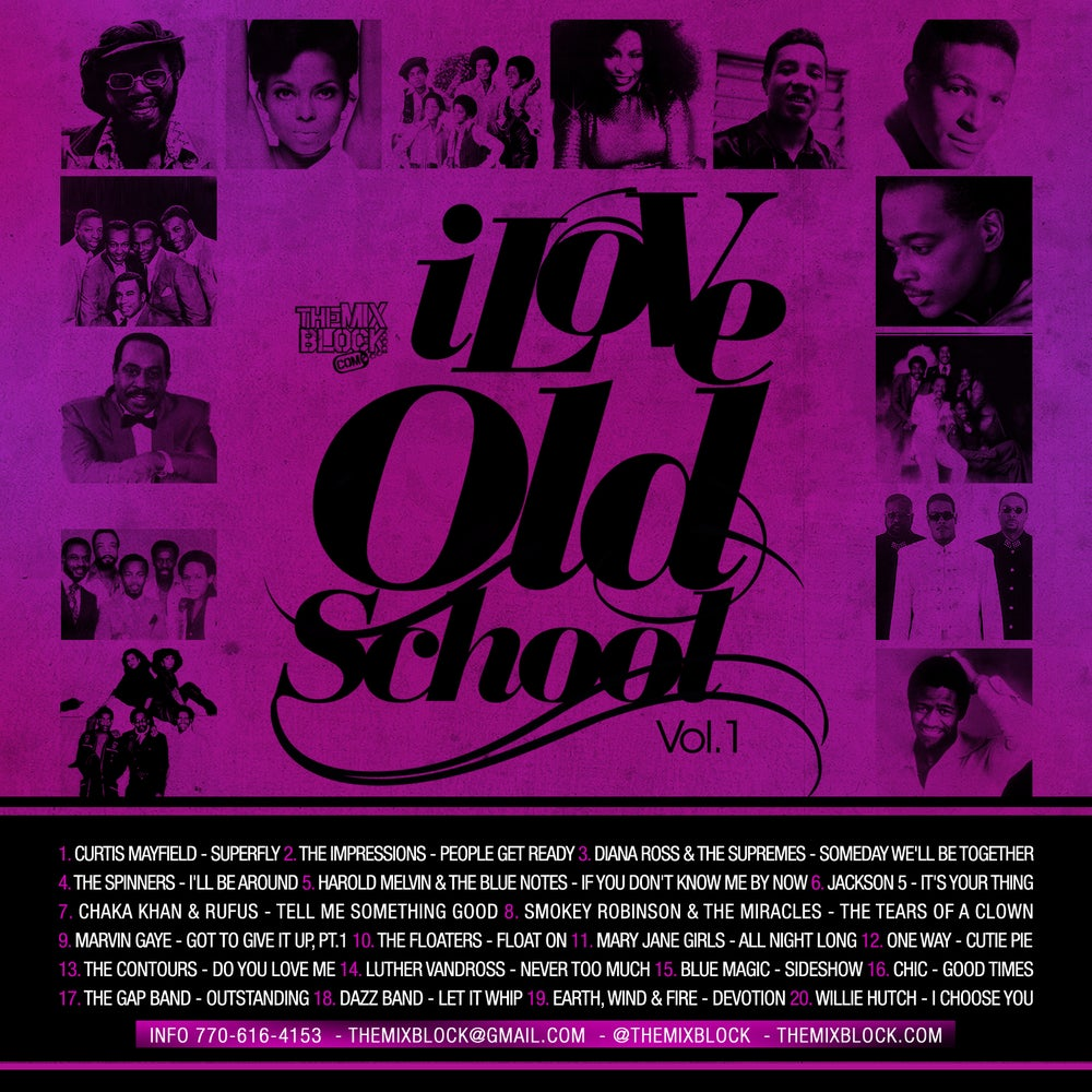 Image of I Love Old School 1