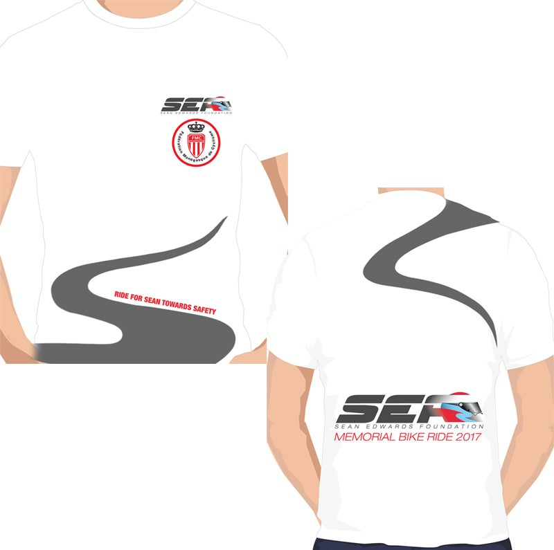 Image of Official SEF Monaco Bike Ride T-shirt