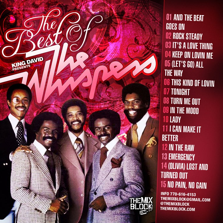 Image of The Whispers: Best Of...