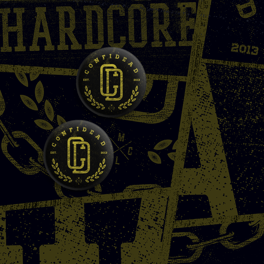 Image of Confidead / Logo pin set