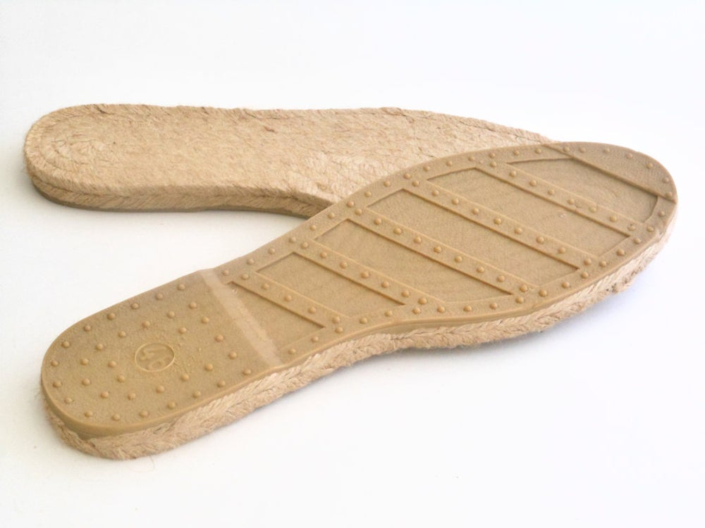 Image of espadrille soles - M7 - MEN - LARGE SIZES - 42 to 46 European sizes