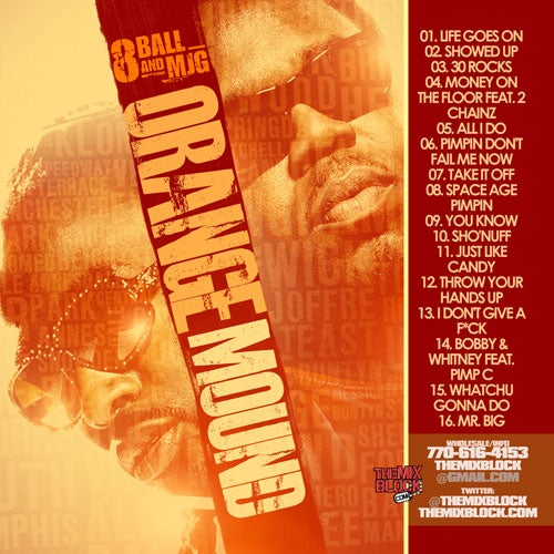 Image of 8Ball & MJG: Orange Mound