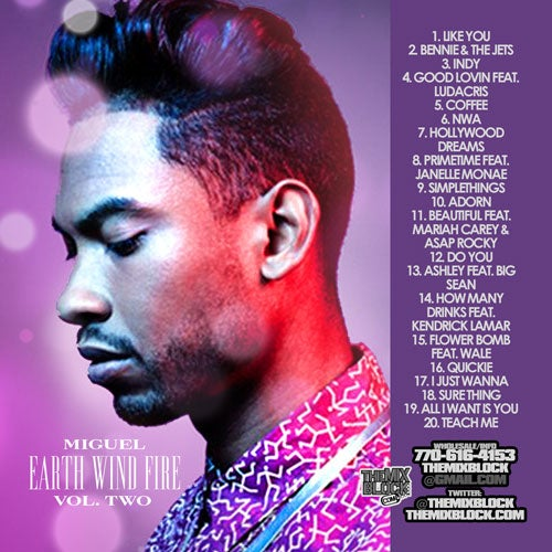 Image of Miguel: Earth, Wind & Fire