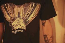 Image of Monkey Climber Tail of Friendship shirt I Used Black - Heather Grey - Heather Cherry