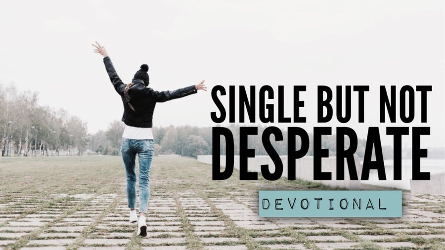 "Image of ""Single But Not Desperate"" Devotional"