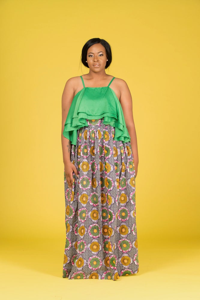 Image of Nikki Stoned Maxi Skirt