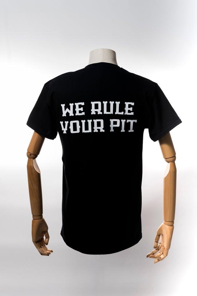 Image of Monkey Climber Pitboss shirt I Black