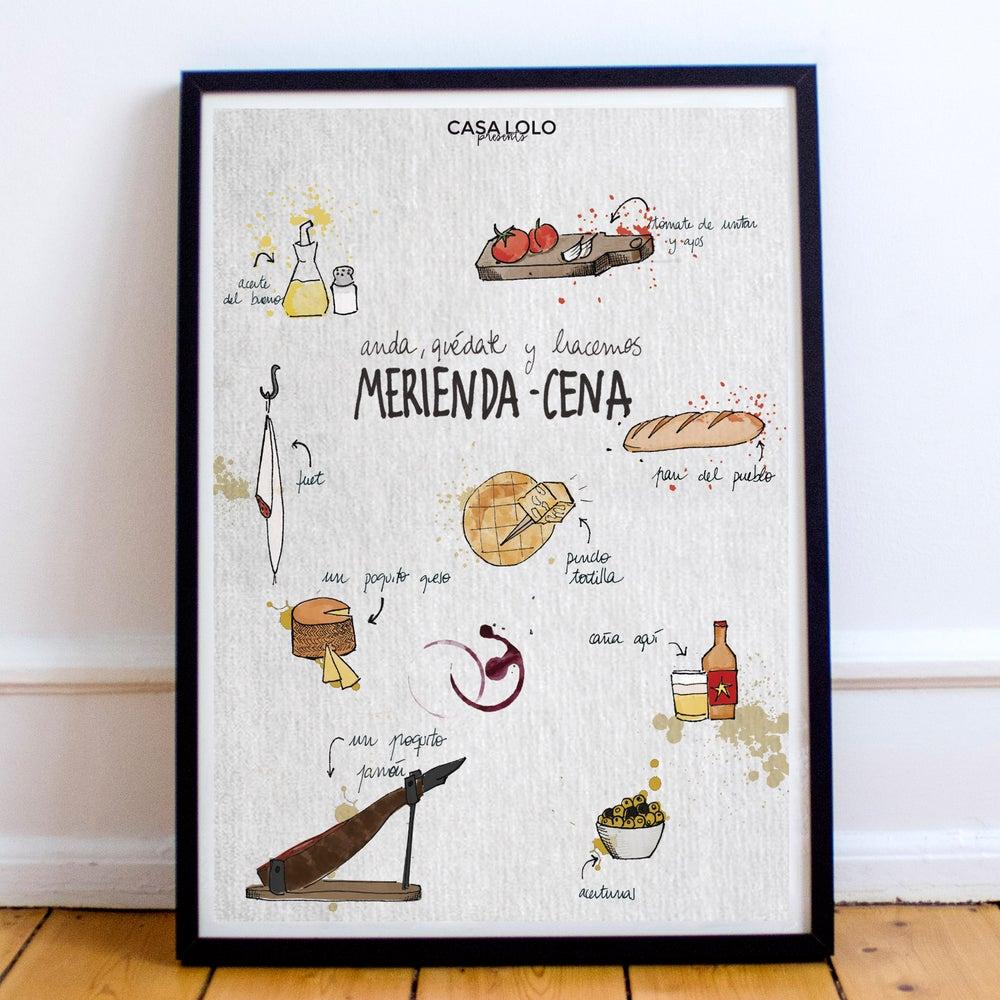 Image of Anda, quédate y hacemos merienda-cena