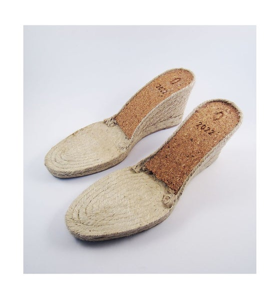 Image of espadrille soles - M12 - 9 cms - 35 to 41 European sizes