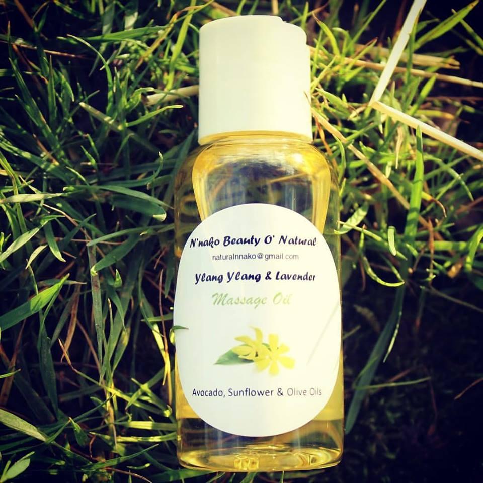 Image of Lavender & Ylang Ylang Massage Oil