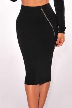 Image of Zip me Up Skirt