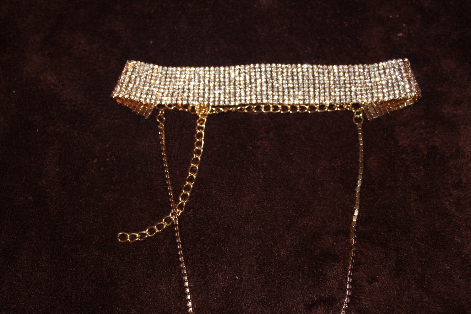 Image of Dripping Gold Choker