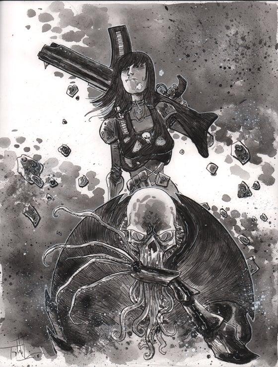 Image of BLACKHOLERS Print #2A Original Art