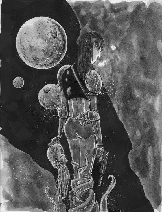 Image of BLACKHOLERS Print #2B Original Art
