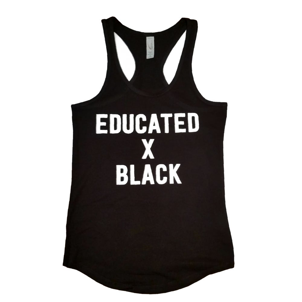 Image of Educated x Black Women's Tank Top