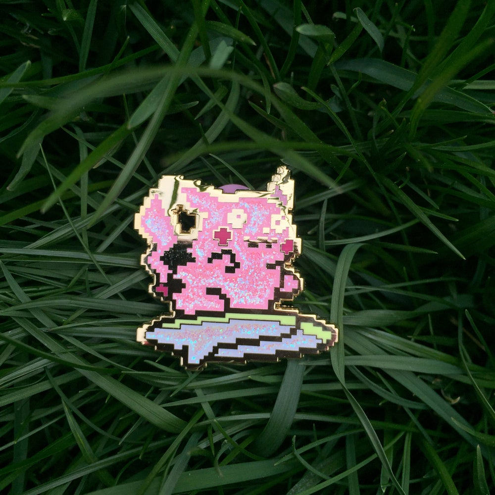 Image of Glitterchu v.3 Enamel Pin