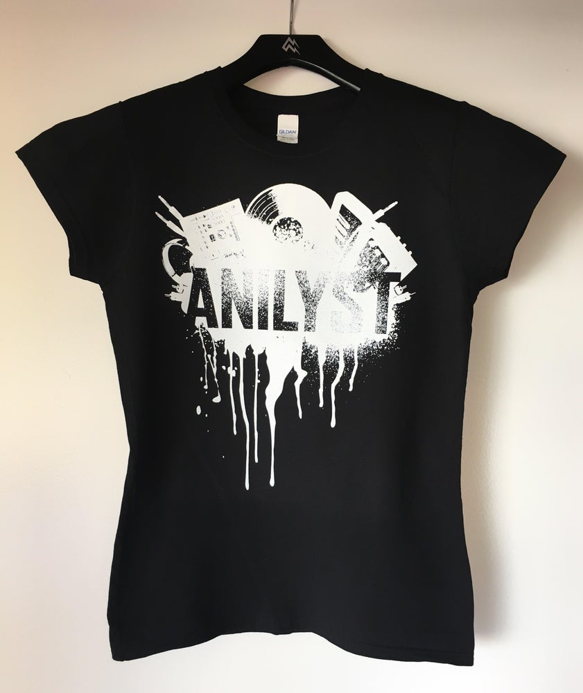 Image of Female Spray Paint Design T-Shirt (NEW)
