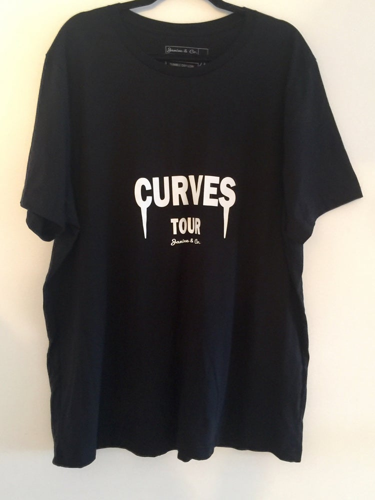 Image of CURVES TOUR T - Black