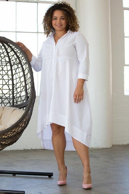 Image of tina shirtdress