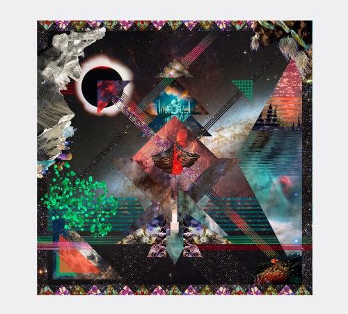 "Image of ""HYPERURANION BAY"" / SILK SCARF 120x120cm"
