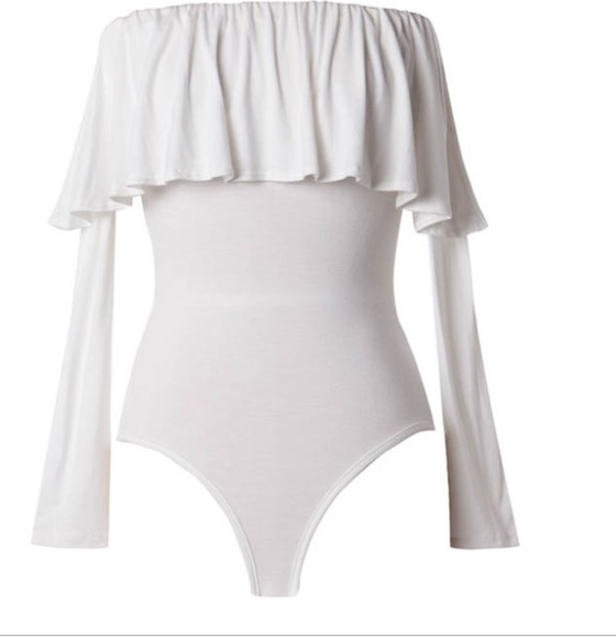 Image of Ruffle Bodysuit