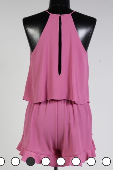 Image of Pretty in Pink Romper