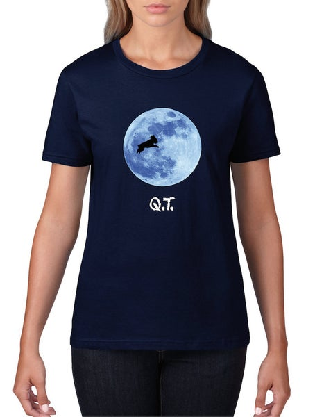 Image of #14 'Q.T.' Women's Semi-Fitted T-Shirt