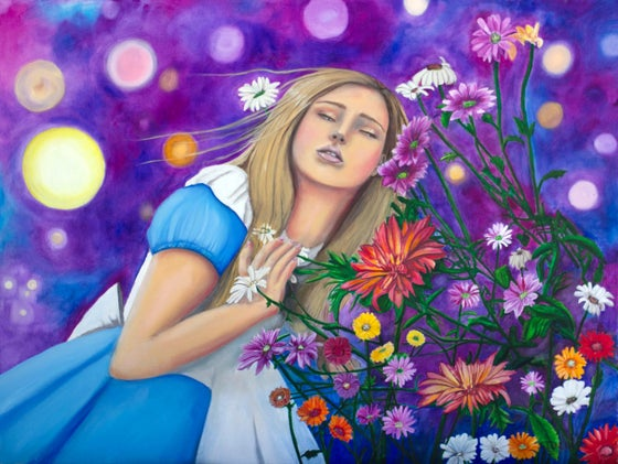 Image of She Talks To The Flowers