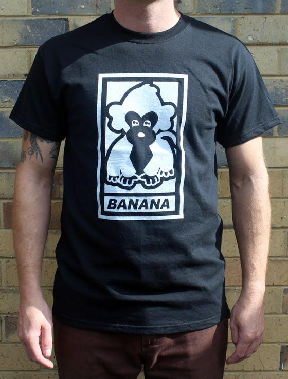 "Image of Malarkey ""Banana"" Tee Black"