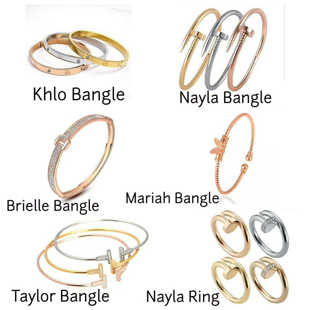 Image of BANGLES & RINGS.