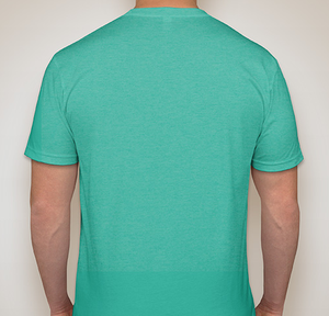 Image of Men's Crewneck T-Shirt (Tahiti Blue)