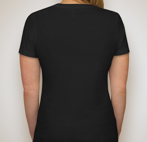 Image of Women's Crewneck T-Shirt (Black)