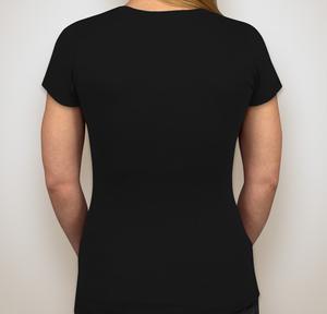 Image of Women's V-Neck T-Shirt (Black)