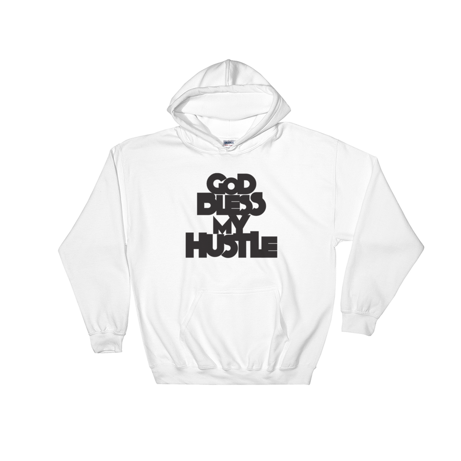 """Image of """"God Bless My Hustle"""" Hoodie (King Norman III Collection)"""