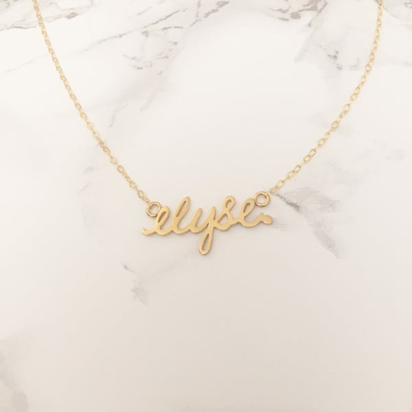 Image of Custom Signature Necklace