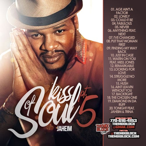 Image of Jaheim: Kiss Of Soul 5