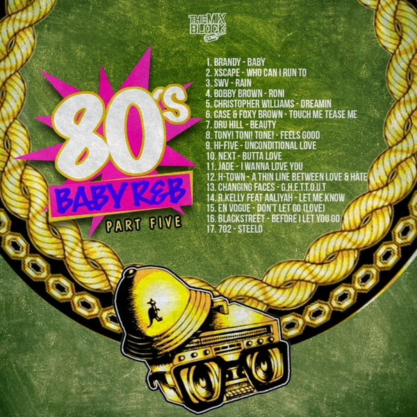 Image of 80's Baby R&B Pt. 5