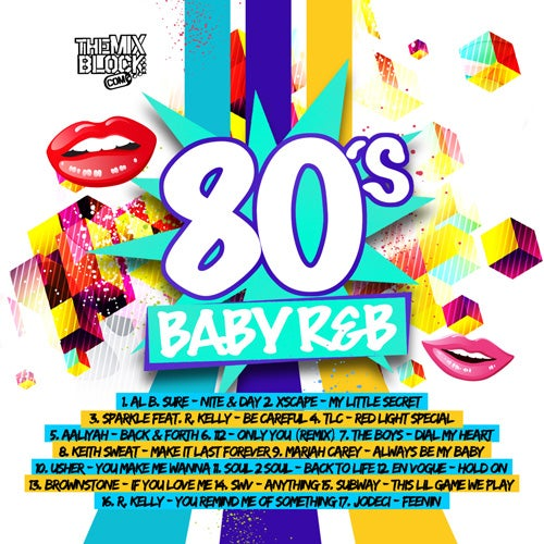 Image of 80's Baby R&B Pt. 2
