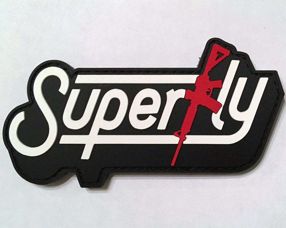 Image of SUPERFLY M4 Patch - Black Stitching (Limited Quantity)