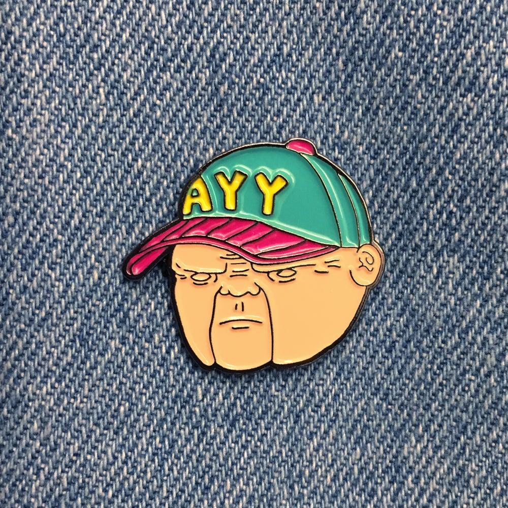 Image of Old Man Days Soft Enamel Pin
