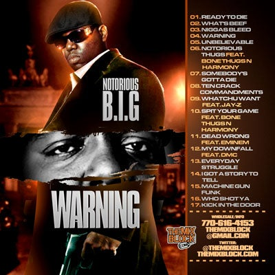 Image of Notorious B.I.G: Warning