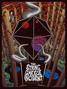 Image of The String Cheese Incident in St. Paul, MN Poster